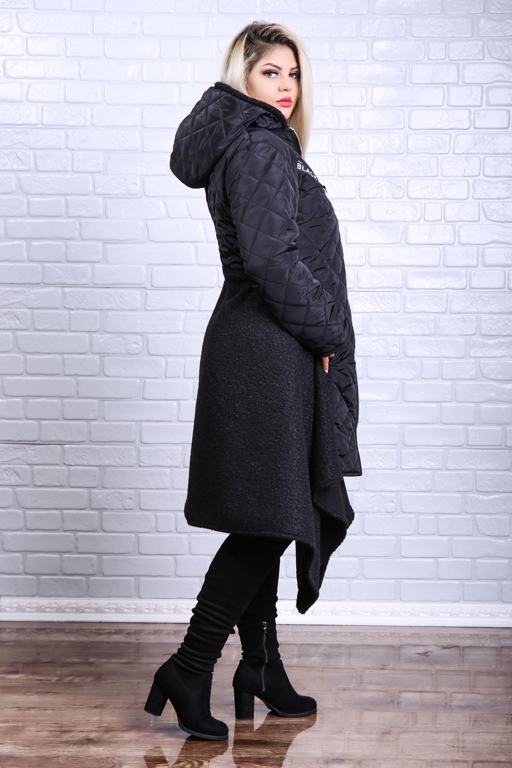 Palton dama marime mare , o piesa vestimentara care pune in valoarele tinutele office.