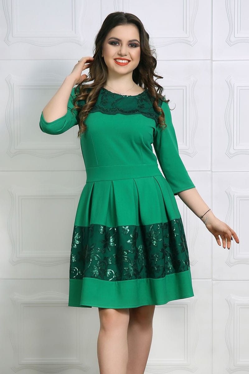 Rochie Eleganta Alia Verde