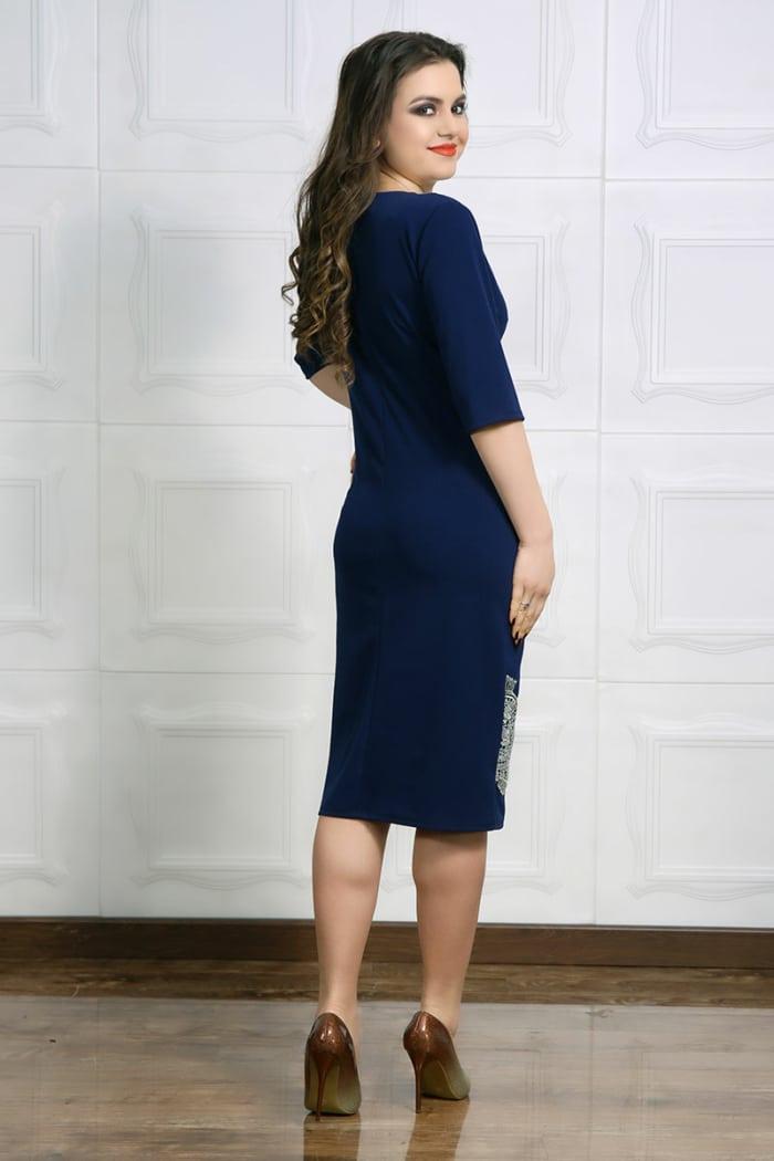 Rochie de ocazie Luiza Bleumarin