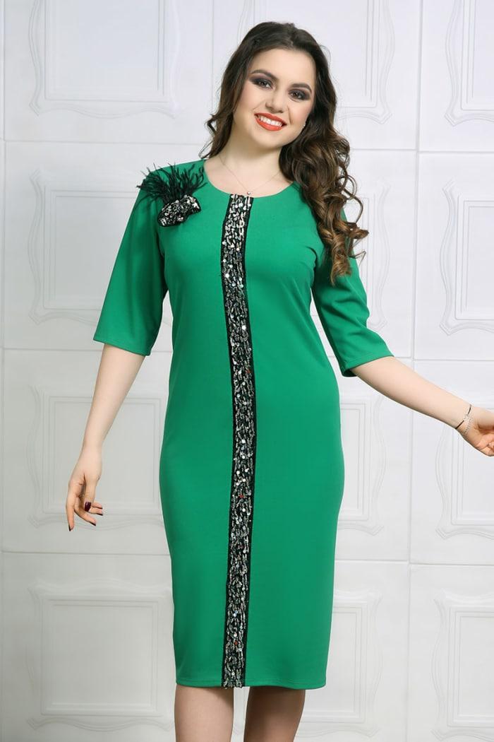 Rochie eleganta Marusa Verde