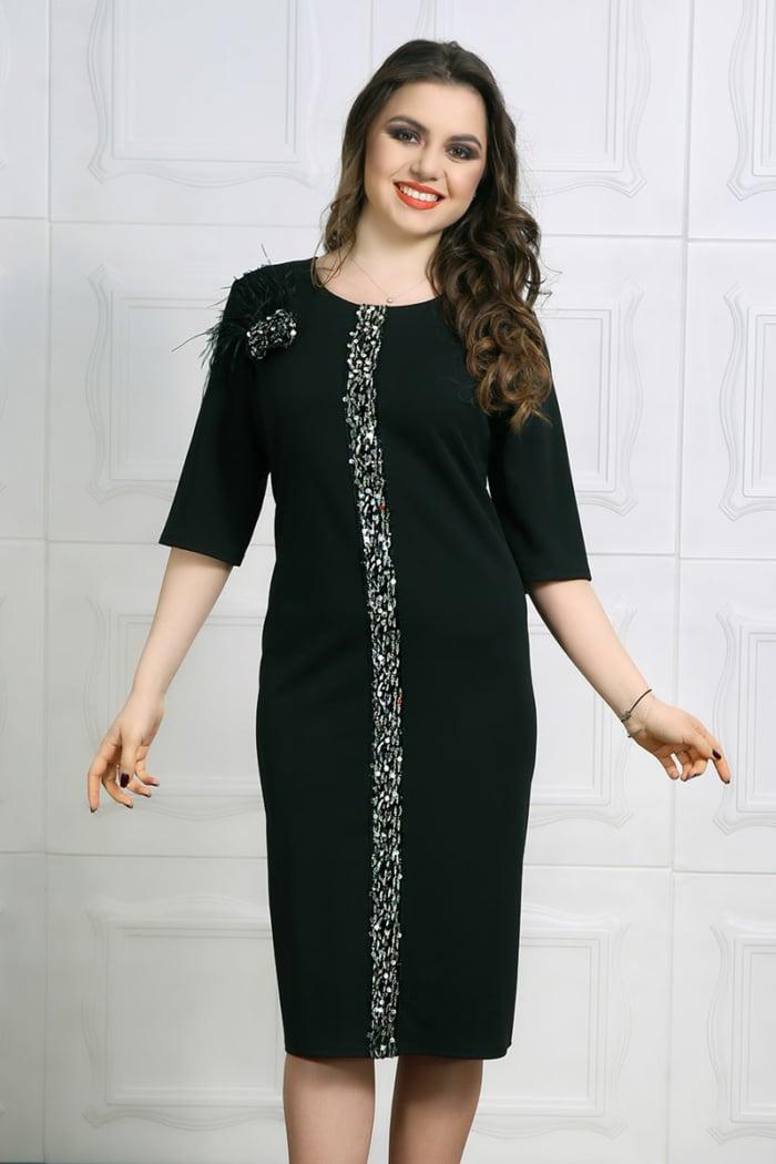 Rochie eleganta Marusa Negru