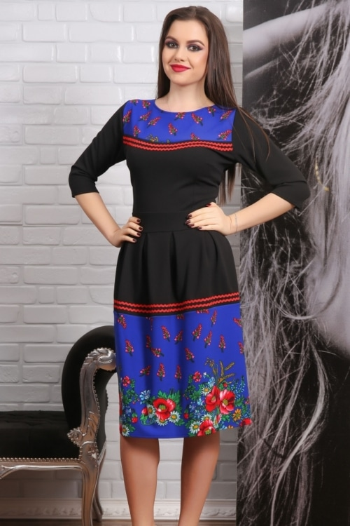 Rochie Traditionala HURIET Floral