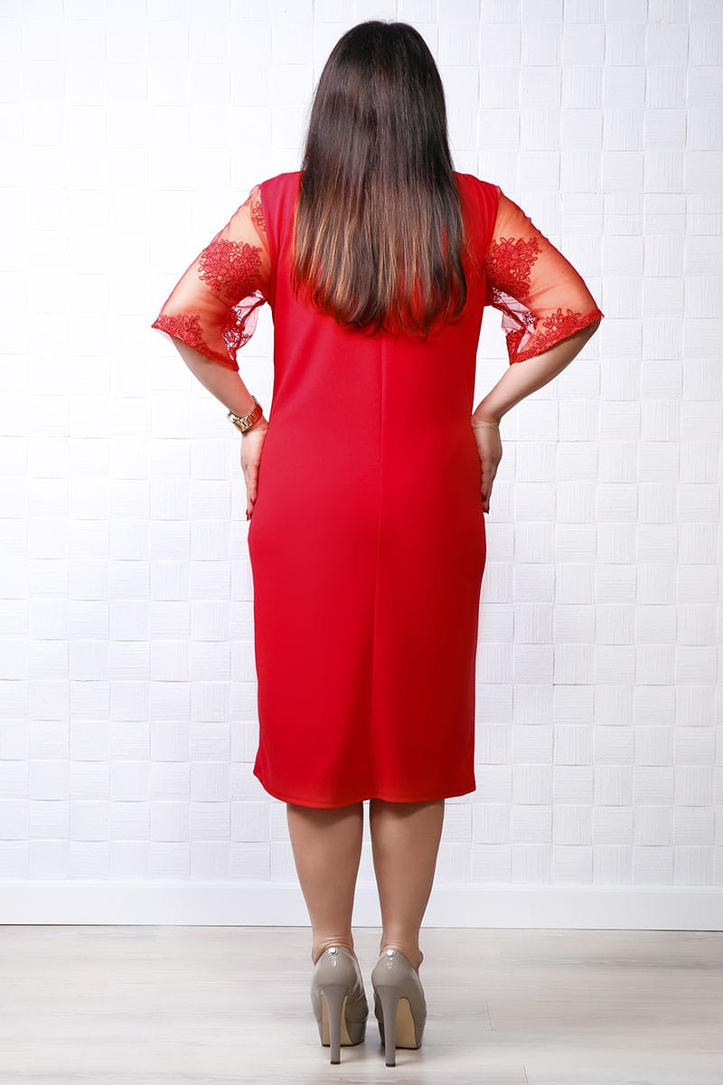 Rochie de ocazie Zaya rosu
