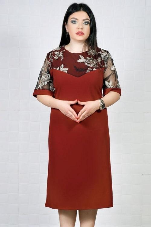 Rochie de ocazie Sindi Bordo