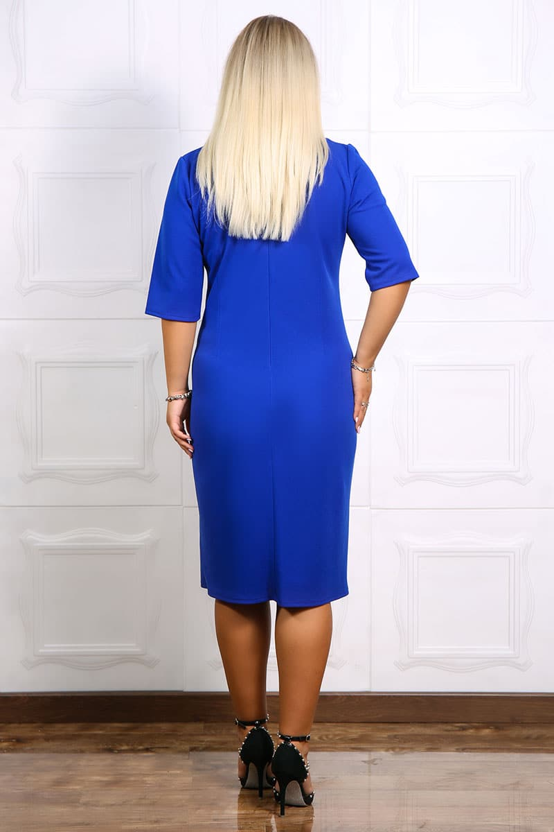 Rochie eleganta Marusa Albastru