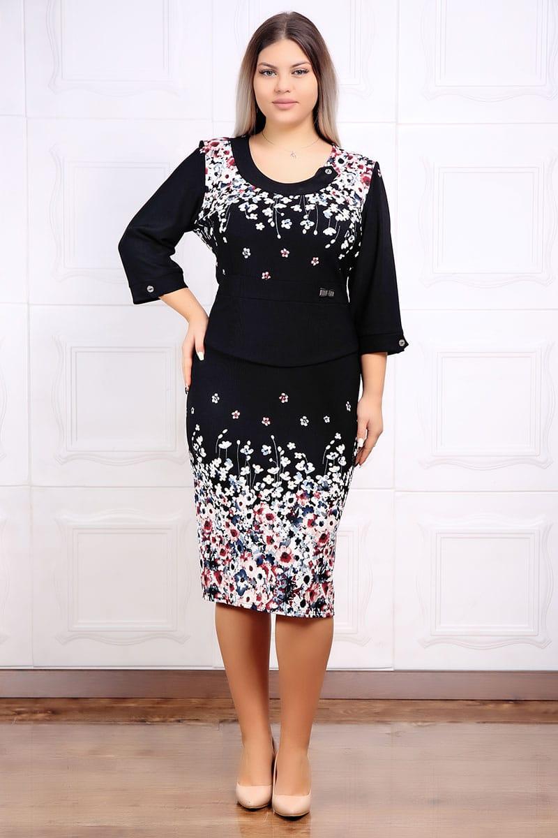 Rochie de ocazie print floral adina